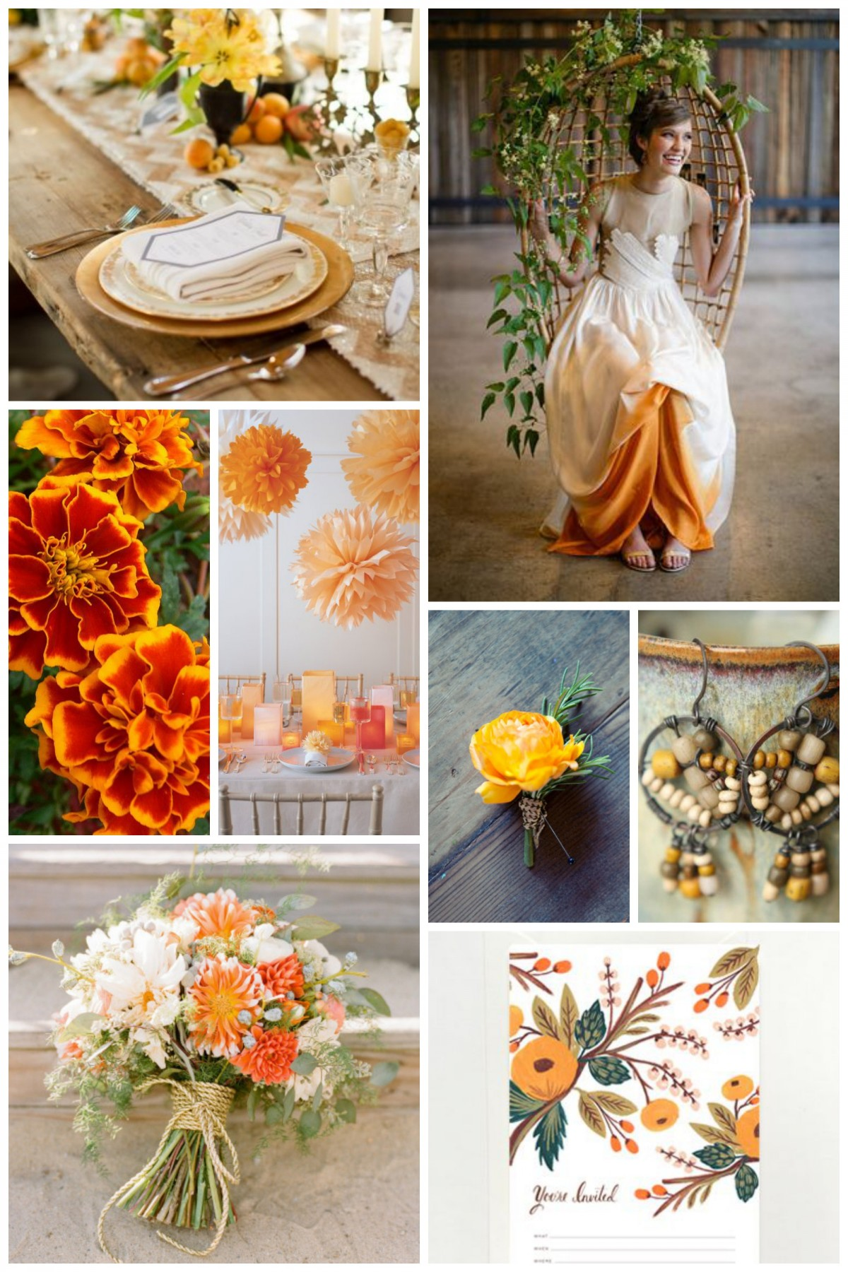 Marigold Collage