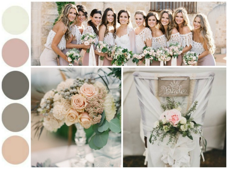 Color Palettes Inspiration – Rustic Weddings