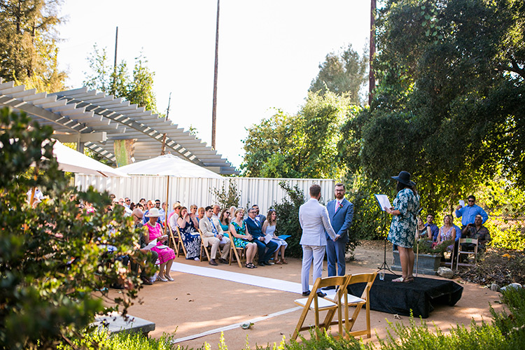 Doug John S Rancho Santa Ana Botanic Gardens Wedding Rustic Weddings