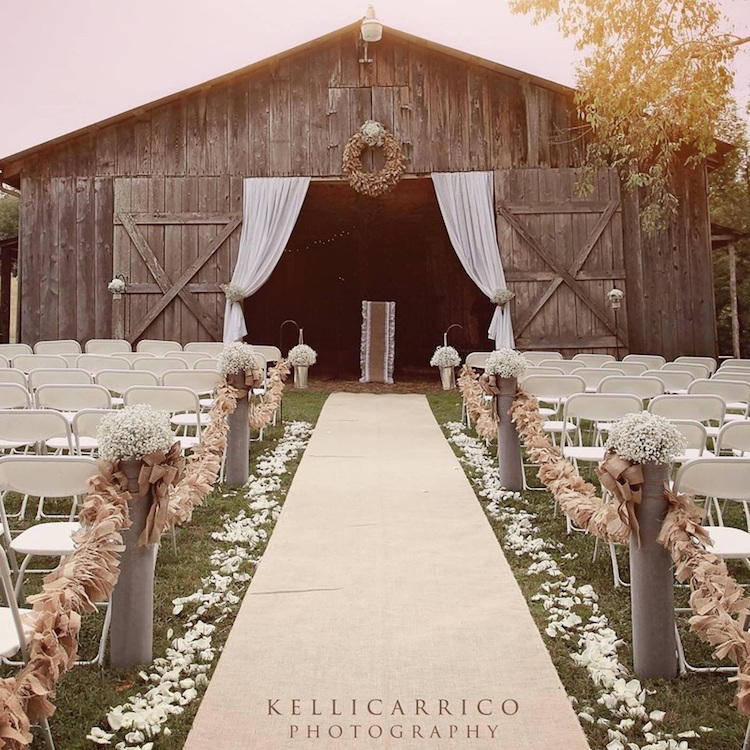 30 Inspirational Rustic Barn Wedding Ideas: West Virginia – Rustic Weddings