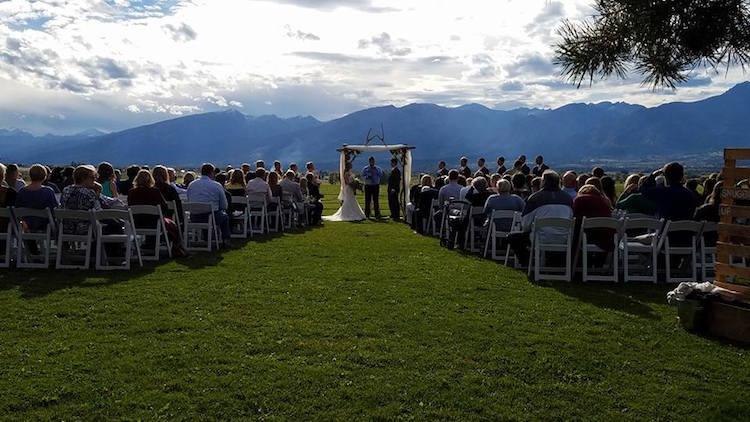 Montana Barn Wedding Venue Flying Horse