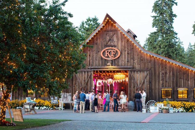 Top Barn Wedding Venues Washington Rustic Weddings