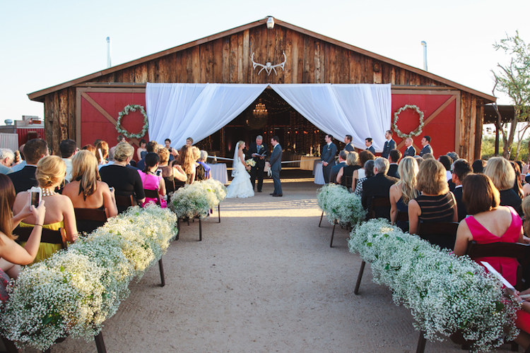 Top barn wedding venues arizona rustic weddings desert foothills junglespirit