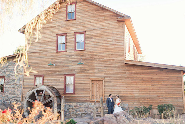 Mill Gilbert AZ Photo Steponme Photography Via Arizona Weddings