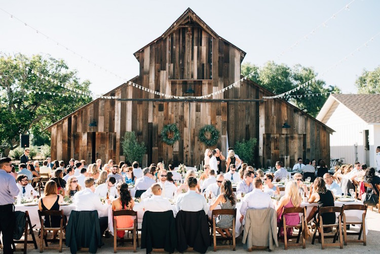 top barn wedding venues california