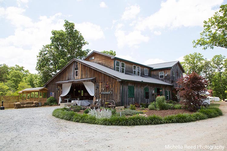 top barn wedding venues georgia rustic weddings