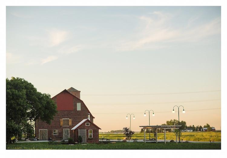 The Keller Brick Barn