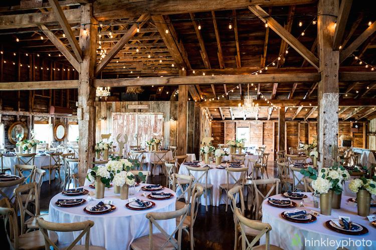 Richardson farm barn wedding