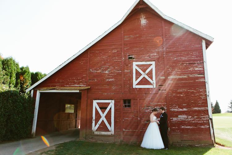 Langdon Farms Portland Oregon Wedding
