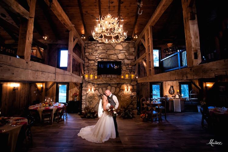 West Virgina Barn Wedding Venue Four Fillies Lodge2
