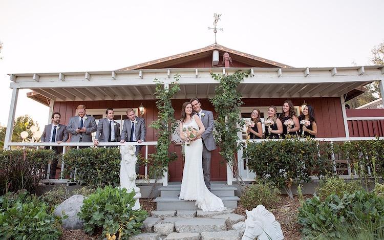 California Barn Wedding Venue Red Horse